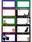 Variety Luggage Tags